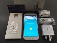 Brand new sim free original Samsung Galaxy S6 G920F sealed box with full accessories on sale