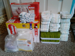 Diapers, breast pads, bottle holders