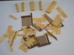 HO scale lumber for electric model trains