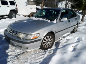 Parting out 2001 Saab