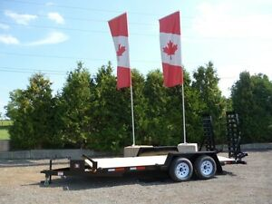 Miska 5 Ton Low Bed Float Trailers - Canadian Made