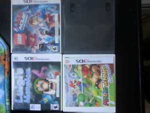 3ds and ds (bothgamesfit) empty cases. $2