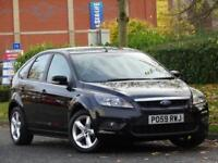 Ford Focus 1.6 BLACK 2010 Zetec + FULL SERVICE HISTORY + WARRANTY
