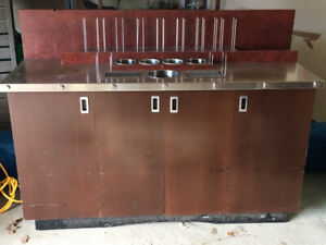 Stainless Steel Coffee Counter w/ Drainage system ! 350 OBO
