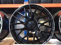 """19"""" alloy wheels Alloys Rims tyre tyres 5x112 Mercedes a c cla e class Vw Volkswagen Seat Skoda audi"""