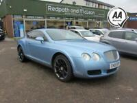 2005 Bentley Continental 6.0 GT 2d 550 BHP Coupe Petrol Automatic