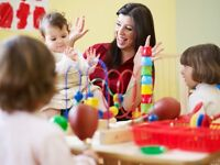 Nursery practitioner needed! Immediate start available to
