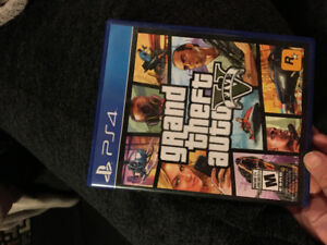 GTA5 VIDEO GAME FOR PLAYSTATION 4