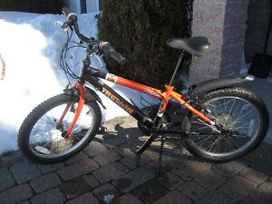 Vélo garçon roues 20 pouces