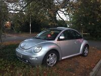 2002 vw beetle 2.0 with leather