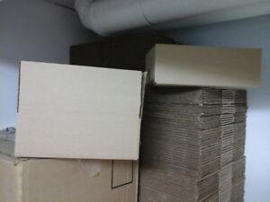 Boîtes de carton