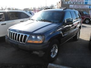 2001 GR.CHEROKEE  LOADED  6 CYL  NEW TIRES & BRAKES  SALE