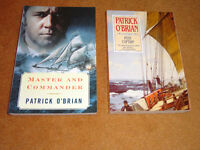 Author Patrick O'Brian - Master and Commander and Post Captain