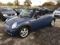MINI ONE 2004 1.6 CONVERTIBLE 2 DOOR - PETROL - MANUAL - LOW MILEAGE