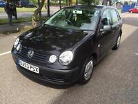 2004 Volkswagen Polo 1.4 5 Door Low Mileage New MOT