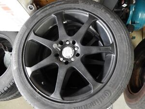 Continental Conti Sport Tires with Motegi Racing rims (4)