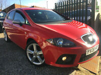 ✿08-Reg Seat Leon 2.0 TDI FR 550 5dr ✿RARE LIMITED EDITION 550 MODEL✿