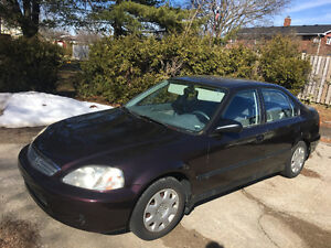 2000 Honda Civic Sedan LOW KLM