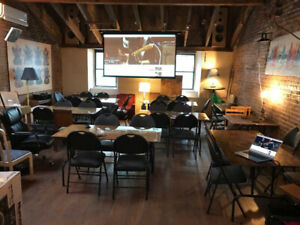 Loft - Event space for rent - by hr or day down  town Montreal