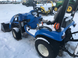 2005 New Holland Boomer TZ18DA Sub-Compact Tractor Package