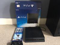 PS4 Console 500gb black