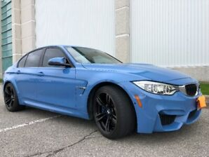 2015 BMW M3 Sedan - Showroom Condition