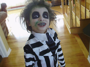 Costume enfant beetlejuice