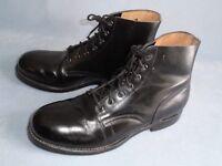 10E Police / Military Style Boot - Biltrite Leather Black