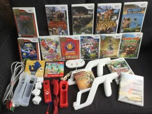 Wii divers : Mario Galaxy, Skywar Sword, Manettes  etc..