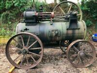 Clayton & Shuttleworth Portable STEAM ENGINE PROJECT NEW PRICE