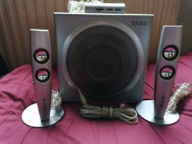 Teac power max 1300 pc speakers