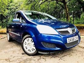2009 Vauxhall Zafira 1.6 i 16v Life MPV 5dr Petrol Manual (175 g/km, 103