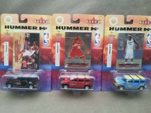 2004 Fleer NBA diecast hummer collectibles (3 players)