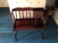 Chair / Telephone Table