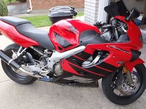 1999 Honda cbr 600 f4 may trade for 4x4 atv