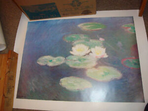 2 posters from Monet / 2 posters de Monet