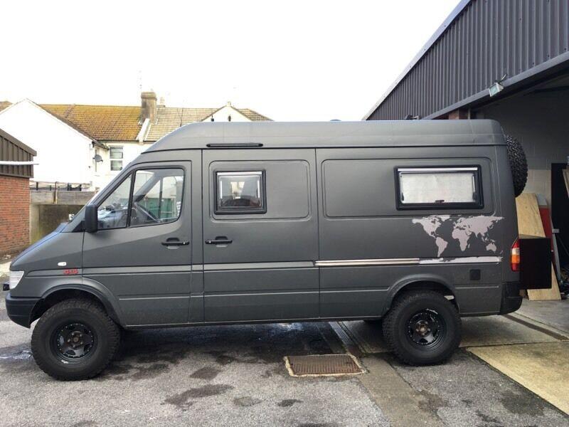 Sprinter Campervan 4x4 Overland