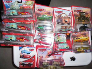 """New In Packages """"Lightning McQueen"""" Metal Dinky Cars"""