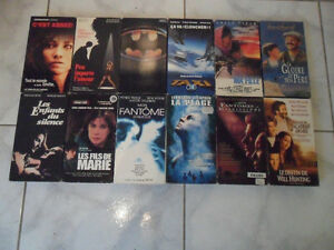 FILMS DIVERS VHS VERSION FRANCAISE (6E)