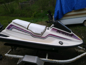 Seadoo sp 580 with trailer