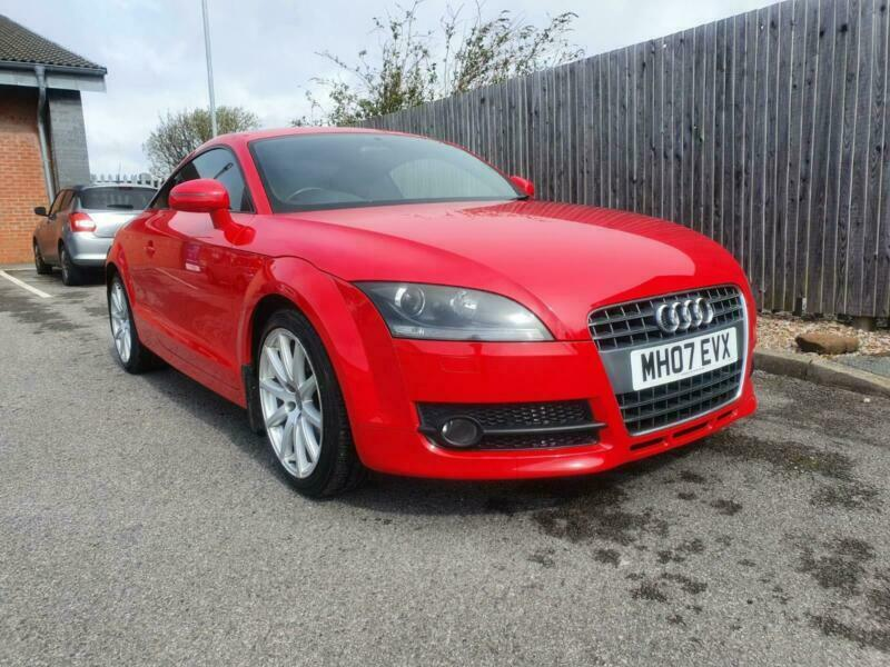 2007 07 Reg Audi TT Coupe 2.0T FSI 2008MY Bright Red Petrol