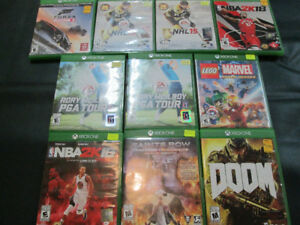 XBOX ONE Games For Sale At Nearly New Port Hope