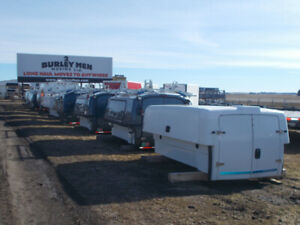 Used 8' Long Box Spacekaps Transferable Service Bodies