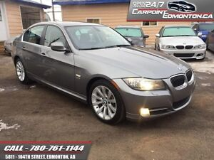 2011 BMW 3 Series 335xi LOADED/NAV/PADDLE SHIFTERS   AMAZING CON