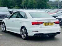 2018 Audi A3 1.5 TFSI CoD S line S Tronic (s/s) 4dr Saloon Petrol Automatic