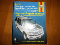 1997-2009 Ford  F-150 F-250 Expedition Navigator Shop Manual