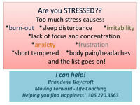 Too Much Stress? Try Coaching to feel better!