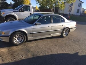 2001 BMW 740-I only 131k kms for $7300 obo