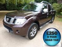 2012 Nissan Navara 2.5 DCi 190 Platinum Double Cab 4x4 Pick Up Diesel