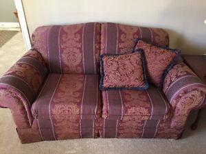 Loveseat and 3 seater sofa Kitchener / Waterloo Kitchener Area image 2